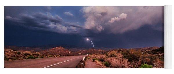 Desert Lightning Yoga Mat