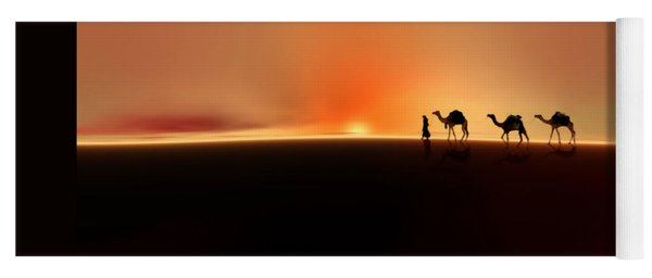 Desert Mirage Yoga Mat