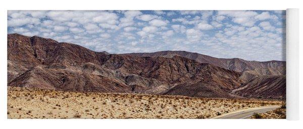 Desert Road 5 Yoga Mat