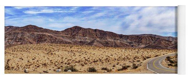 Desert Roads 2 Yoga Mat
