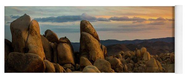 Desert Rocks Yoga Mat