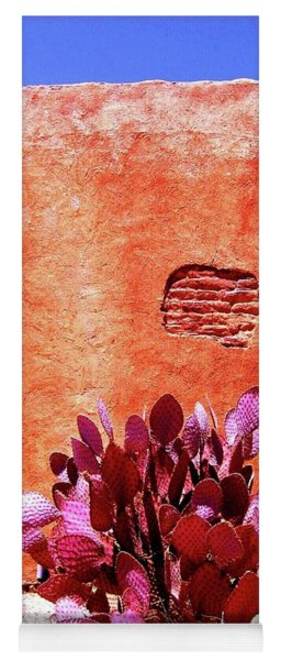 Yoga Mat featuring the photograph Desert Solace by Michelle Dallocchio