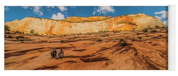 Desert Solitaire With A Friend Yoga Mat