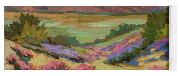 Desert Verbena At Borrego Springs Yoga Mat
