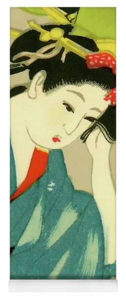 Designer Series Japanese Matchbox Label 126 Yoga Mat
