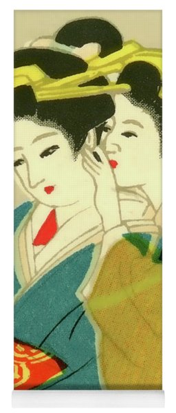 Designer Series Japanese Matchbox Label 127 Yoga Mat