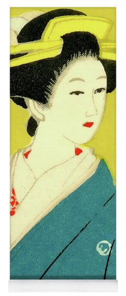 Designer Series Japanese Matchbox Label 128 Yoga Mat