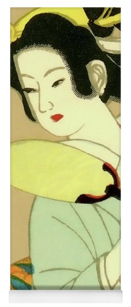Designer Series Japanese Matchbox Label 130 Yoga Mat