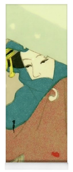 Designer Series Japanese Matchbox Label 136 Yoga Mat