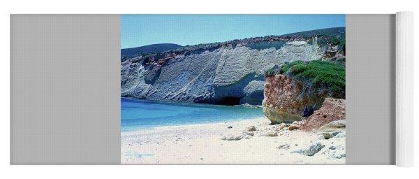 Desolated Island Beach Yoga Mat