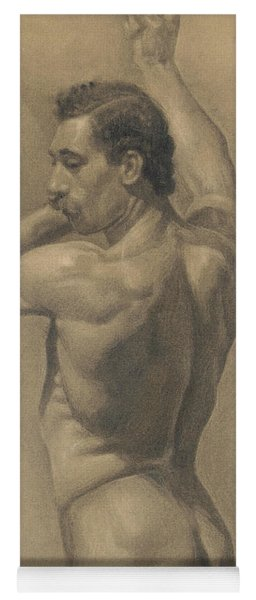 Detail From A Study Of The Male Figure, 1875 Yoga Mat