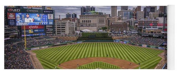 Detroit Tigers Comerica Park 4837 Yoga Mat