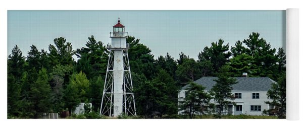 Devils Island Light Tower Yoga Mat