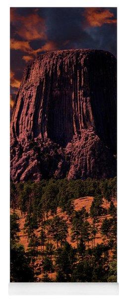 Devils Tower Sunrise Yoga Mat