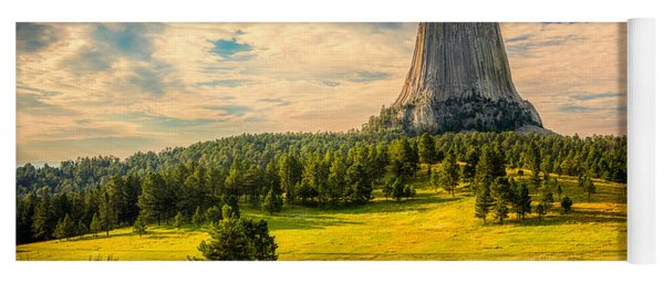 Devil's Tower - The Other Side Yoga Mat