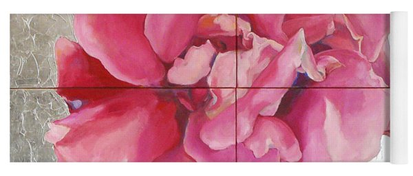 Yoga Mat featuring the painting Devoted Love by Eva Konya