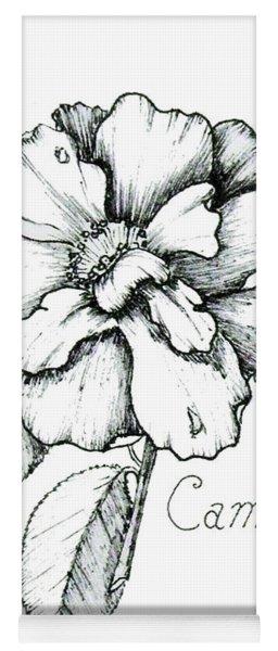 Dew Kissed Camellia Yoga Mat