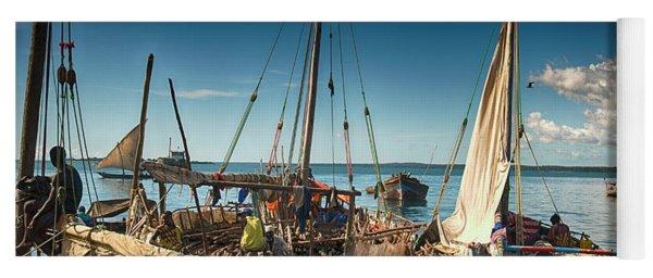 Dhow Sailing Boat Yoga Mat