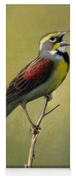 Dickcissel Summer Song Yoga Mat