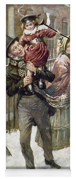 Dickens: A Christmas Carol Yoga Mat