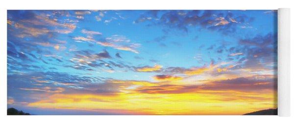 Digital Liquid - Good Morning Virginia Yoga Mat