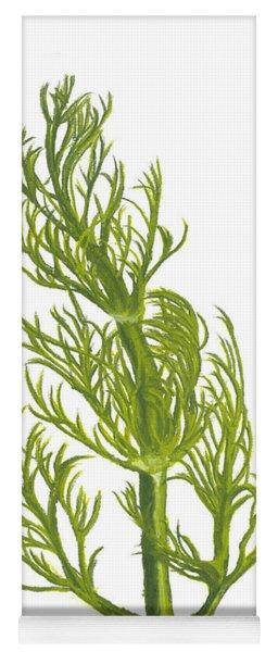 Dill Plant Yoga Mat