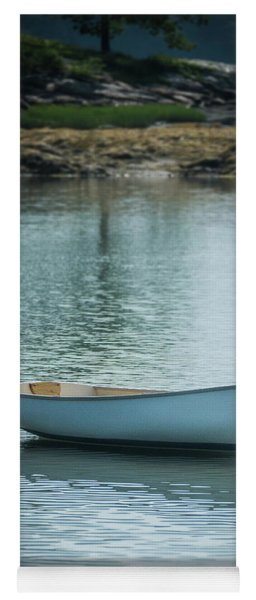 Yoga Mat featuring the photograph Dinghy by Guy Whiteley