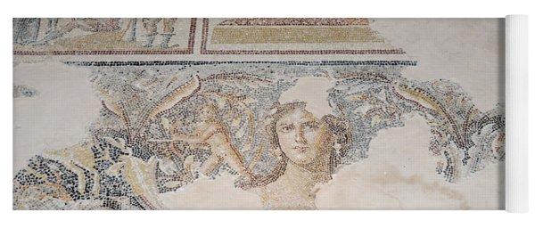 Dionysus Mosaic Mona Lisa Of The Galilee Yoga Mat