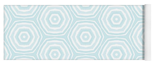 Dip In The Pool -  Pattern Art By Linda Woods Yoga Mat
