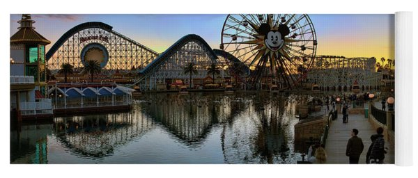Disney California Adventure Panorama Yoga Mat