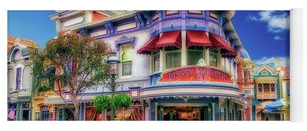 Disney Clothiers Main Street Disneyland 01 Yoga Mat