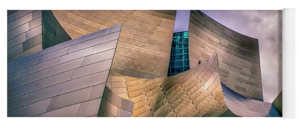 Disney Concert Hall At Dusk Yoga Mat