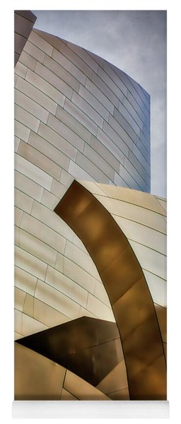 Disney Hall Abstract 3 Yoga Mat