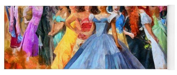 Disney's Princesses Yoga Mat