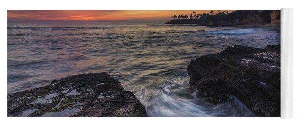 Diver's Cove Sunset Yoga Mat