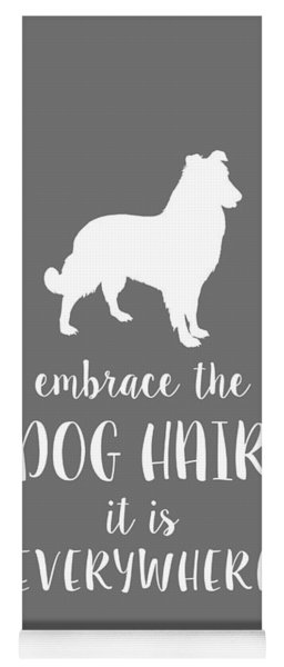 Dog Hair Yoga Mat