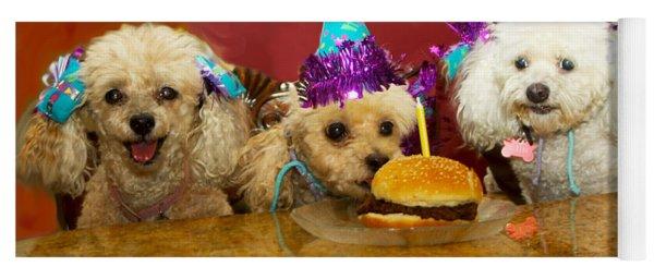 Dog Party Yoga Mat