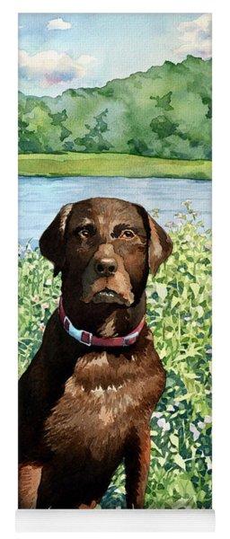 Dog Portrait #1 Yoga Mat