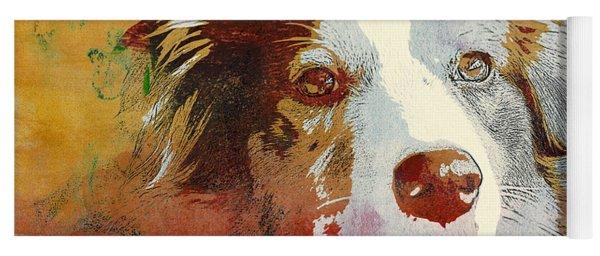 Dog Portrait Yoga Mat