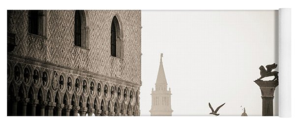 Doge's Palace S At Piazza San Marco In Venice, Italy Yoga Mat