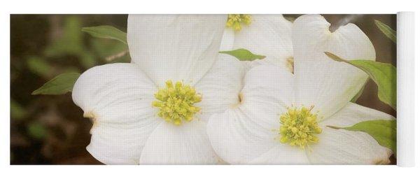 Dogwood Blossom Trio Yoga Mat