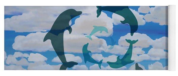 Dolphin Cloud Dance Yoga Mat