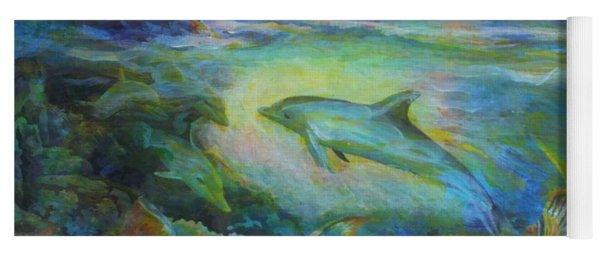 Dolphin Fantasy Yoga Mat