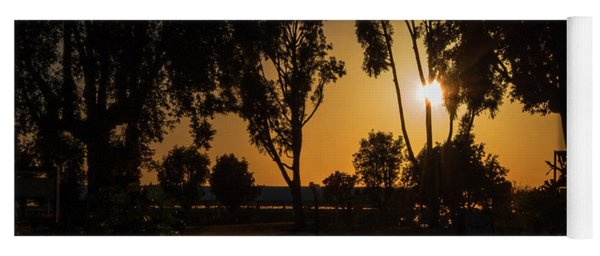 Dominguez Hills Sunset Yoga Mat