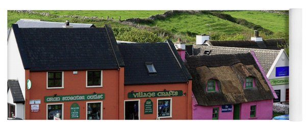 Doolin Village County Clare Yoga Mat