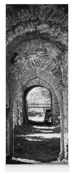 Doors At Ballybeg Priory In Buttevant Ireland Yoga Mat