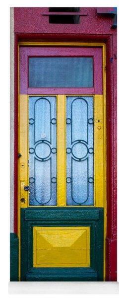 Doors Of San Telmo, Argentina Yoga Mat