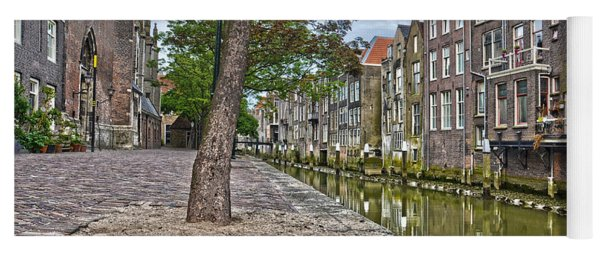 Dordrecht Behind The Church Yoga Mat