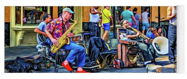 Doreen's Jazz New Orleans 2 - Paint Yoga Mat