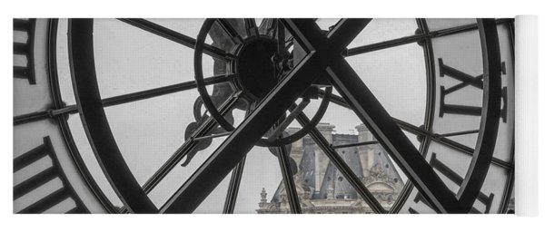 D'orsay Clock Paris Yoga Mat
